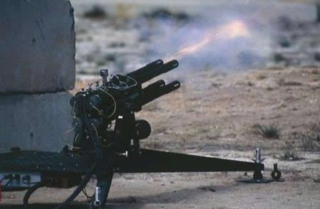 metralleta robótica